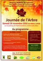 JOURNEE DE L'ARBRE LE 26 NOVEMBRE