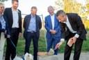La première pierre du projet de revitalisation du Centre d'Alleur est posée !