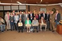 Quatre citoyens recevaient ce 17 mai le prix « Hubert Goffin ».