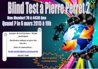 6 mars, Blind Test à Pierre Perret