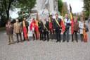 Cérémonie d'hommage au monument du Fort de Loncin ce 8 mai…