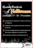Grande braderie d'Halloween 17-18-19 octobre