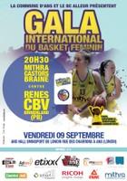 Gala international du basket féminin