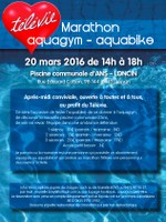 Marathon d'aquagym et d'aquabike au profit du Télévie