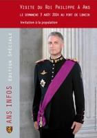 Visite du Roi Philippe à Ans, invitation à la Population !