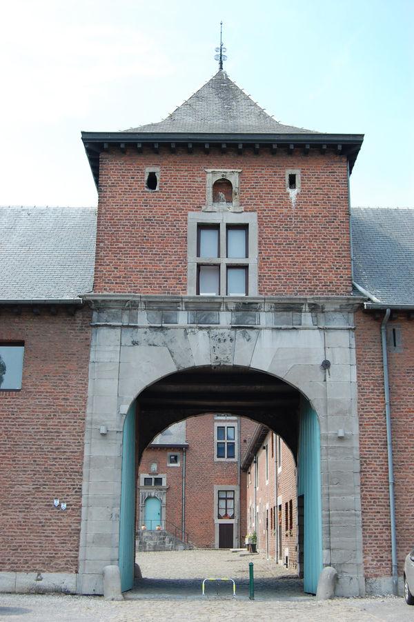 Le château-ferme de Hombroux