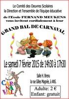 Grand bal de Carnaval de l'école Fernand Meukens