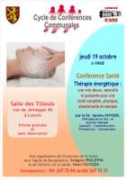 Conférence santé: thérapie énergétique