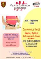 Conférence santé: Sleeve- By Pass ...