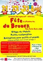Fête du Brouck, 21, 22 et 23 août
