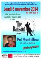 Thé dansant le jeudi 6 novembre à la salle Henriette Brenu