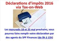 votre déclaration d'impôt